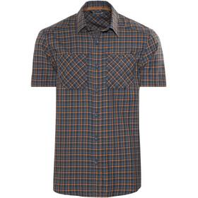 Arc'teryx Tranzat Shortsleeve Shirt Men grey/orange